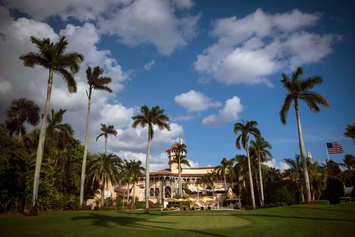 Charities and organizations are canceling events planned at President Trump's Palm Beach club.