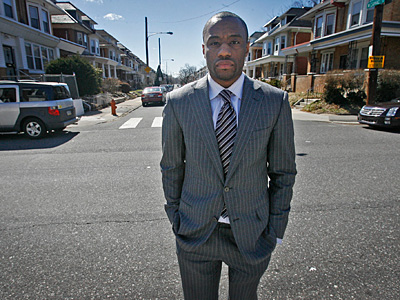 Marc Lamont Hill filed a federal civil rights lawsuit after a June 2010 traffic stop in the Logan section of Philadelphia. (Alejandro A. Alvarez/Staff)