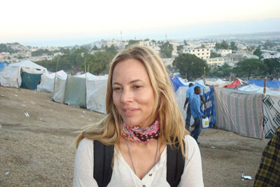 Maria Bello cofounded WE ADVANCE to give women in Haiti better health, education and a louder voice. (Courtesy WE ADVANCE)