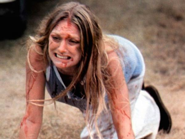 Marilyn Burns as Sally Hardesty in ´Texas Chainsaw Massacre.´