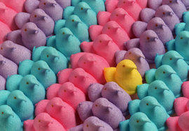 Marshmallow Peeps by Just Born