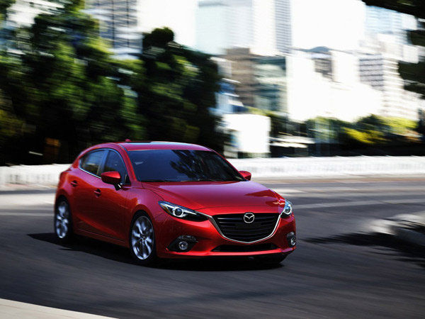 The 2014 Mazda3 has been completely redesigned for this model year. (Mazda/MCT)