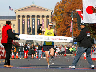 "Sports Doc followed up with 2012 Philly Marathon winner Michael McKeeman to discuss what he calls ""the highlight of my running career."""