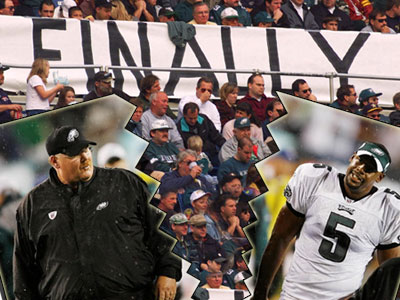 On Easter Sunday, the Eagles announced they had traded Donovan McNabb to the Redskins, ending his 11-year tenure in Philadelphia. (Chris Corter / Philly.com photo illustration)