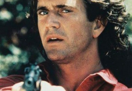 Mel Gibson and lethal weapon.