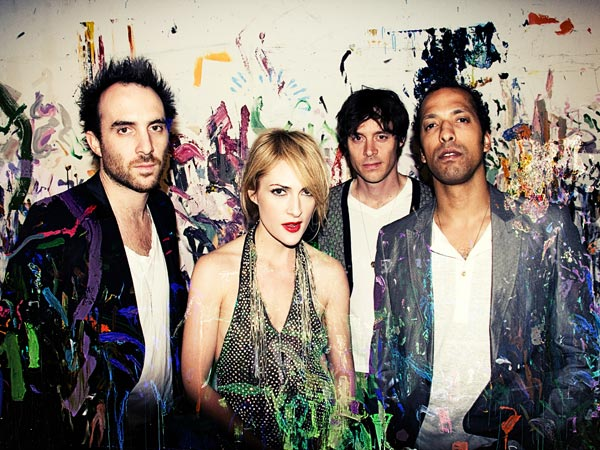 Metric will play a free show on Saturday, June 8 at The Piazza.