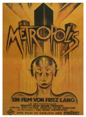 The original 1927 poster for Metropolis.