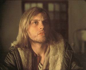 "Michael Pitt as Kurt Cobain in Gus Van Sant´s ""The Last Days."""