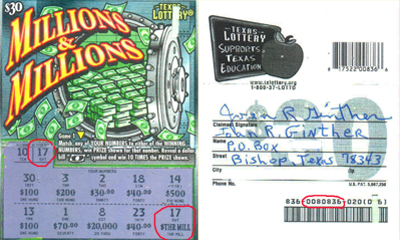 best texas lottery scratch off