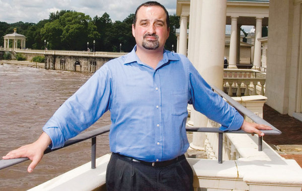 Michael Karloutsos says he didn´t pay for utilities at Water Works Restaurant or Boathouse Row Café because he never received a bill.