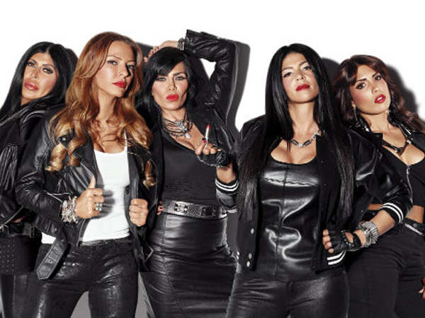 """The new """"Mob Wives,"""" including """"Big Ang,"""" Drita D'Avanzo, Renee Graziano and Philly´s own Alicia DiMichele and Natalie Guercio."""