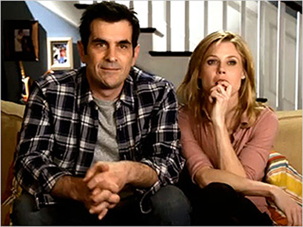 Screen shot from ABC´s Modern Family.