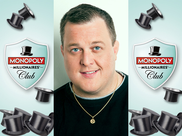 "Starting in January, Billy Gardell of ""Mike & Molly"" will host a TV game show called ""Monopoly Millionaires´ Club,"" a tie-in with a new national lottery game, set to debut in about 20 states on Oct. 19, 2014."