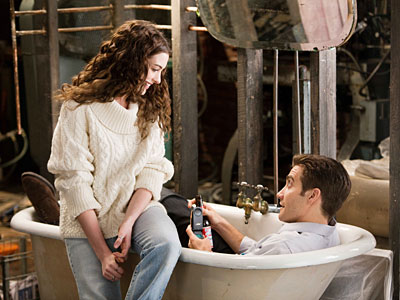 "Anne Hathaway and Jake Gyllenhaal in ""Love and Other Drugs."""