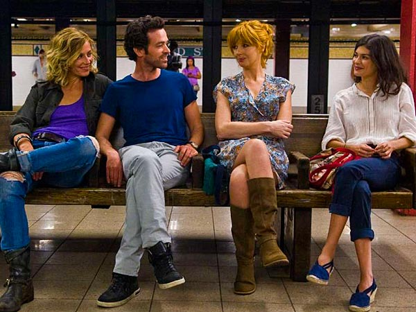 "The third of French filmmaker Cedric Klapisch´s ""Spanish Apartment"" movies, ""Chinese Puzzle"" set in New York, stars (from left) Cecile de France, Romain Duris, Kelly Reilly, and Audrey Tautou."