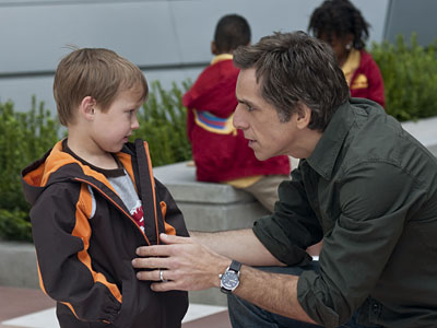 "Colin Baiocchi and Ben Stiller star in ""Little Fockers."""