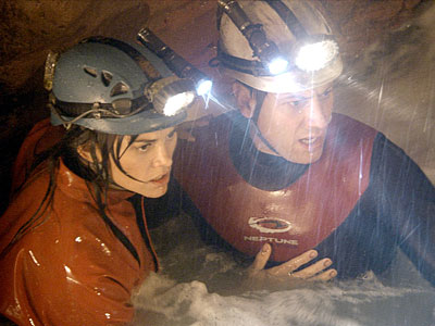 "In ""Sanctum,"" a group of spelunkers become trapped when a flash flood hits."