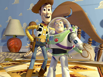 Woody, Buzz Lightyear, and their pals plot an escape from a day-care center in this second sequel, which has visual dazzle but a familiar feel.
