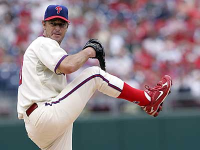 After longer than anticipated negotiations, the Phillies have re-signed lefthander Jamie Moyer to a two-year deal. (Michael Perez / Inquirer)