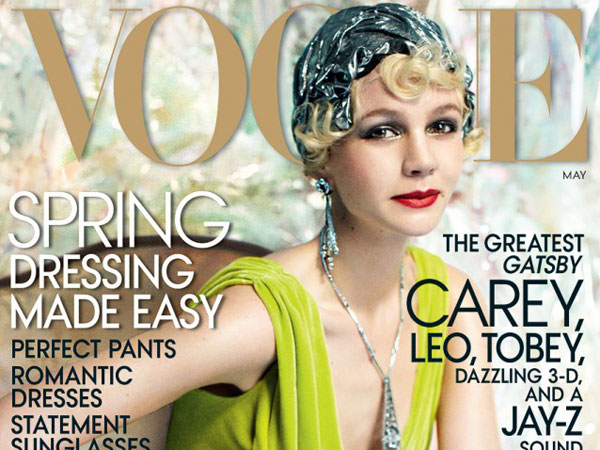 Carey Mulligan covers Vogue´s May Issue. (Courtesy photo)