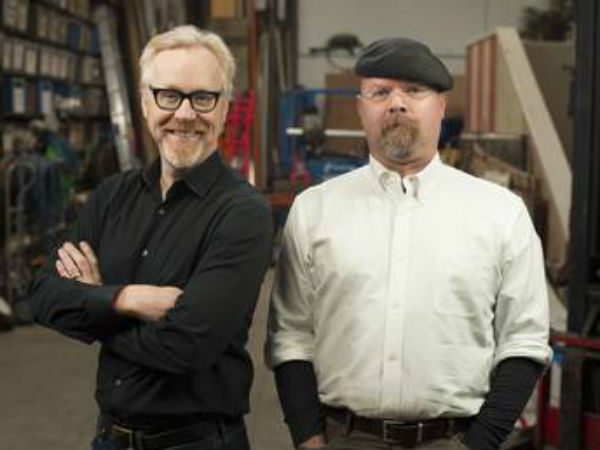 """Mythbusters"" Adam Savage and Jamie Hyneman test some ""Deadliest Catch"" beliefs in Wednesday´s show"