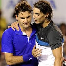 Roger Federer and Rafael Nadal have always shown each other friendship and respect. But while Federer has led in the chase for history, Nadal has had Federer´s number head to head.