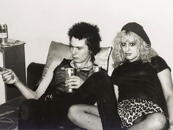 Sid Vicious and Nancy Spungen, 1978. Spungen was born and raised in the Philadelphia area, cementing our role in the history of punk rock.