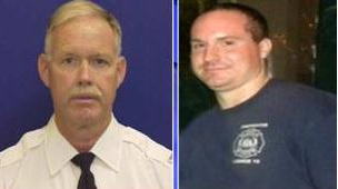 Lt. Robert Neary and Firefighter Daniel Sweeney, killed in April 2012 Kensington factory fire