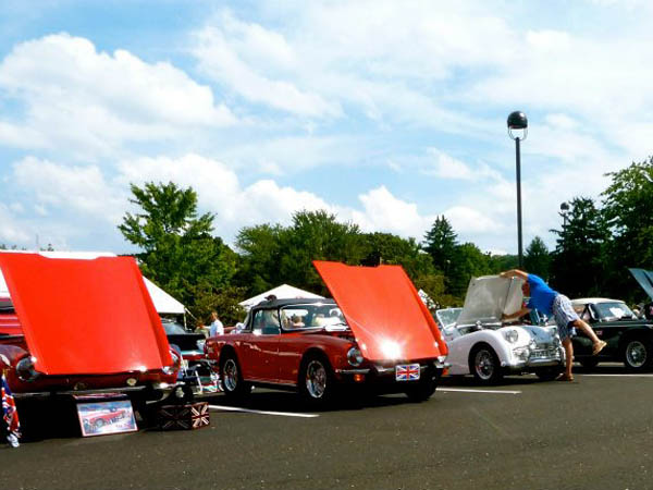 The New Hope Auto Show takes place on August 9 and 10. (Photo via Facebook)