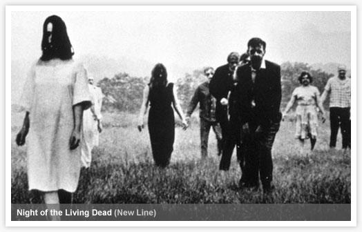 The Living Dead stalk Butler County, Pennsylvania.