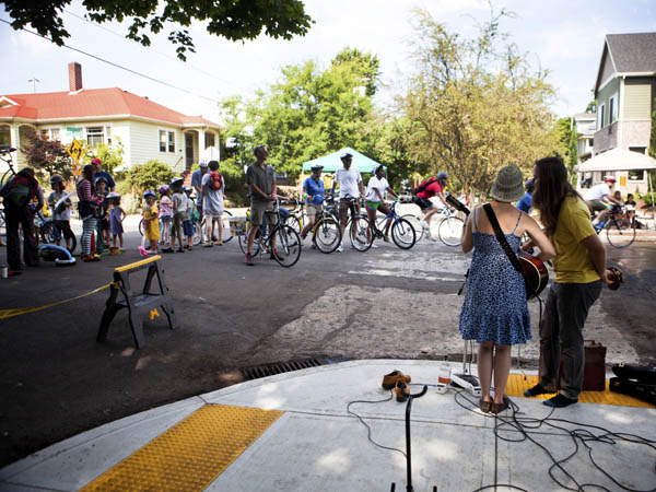 Local neighborhoods come together to promote crime prevention during National Night Out. (iStock Photo)