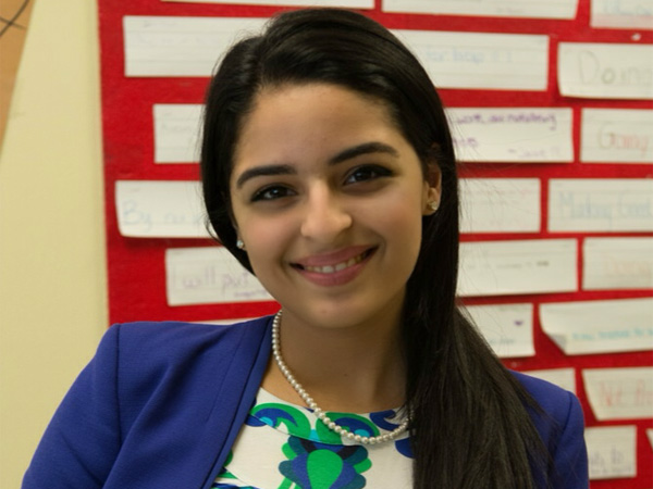 Nikki Adeli, 17, will speak at TedxPhiladelphia on Friday.