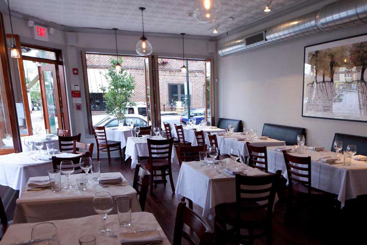 Dining room at Noord, 1046 E. Tasker St.