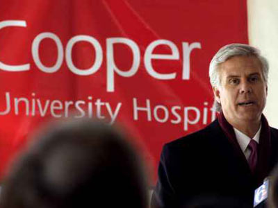 South Jersey Democratic political powerbroker George E. Norcross III, CEO of Cooper University Hospital, is supporting education reform in Camden.
