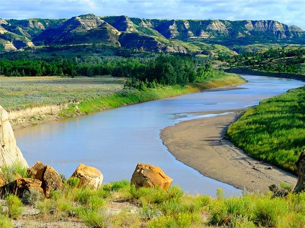 North Dakota, the happiest state.
