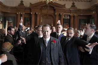Nucky leaves the courtroom fully exonerated