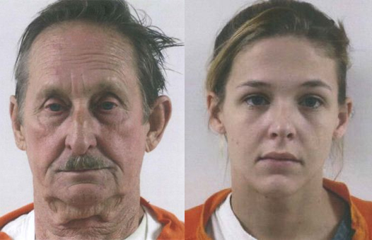 Dennis Leffew and Jessica Williams, arrested for prison drug-smuggling scam.