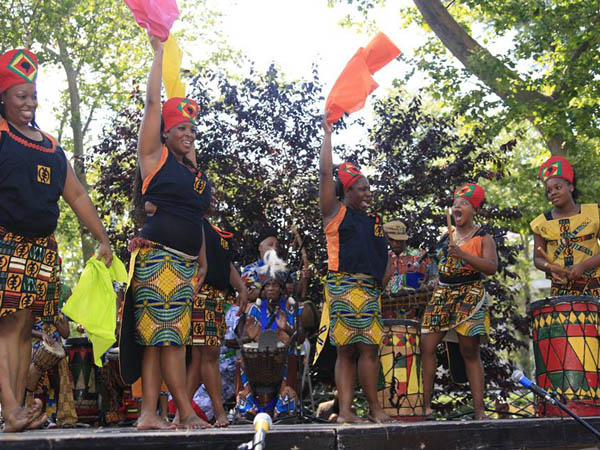 Celebrating African American culture, the Odunde Festival offers programming through Sunday, June 8. (Photo via Facebook)