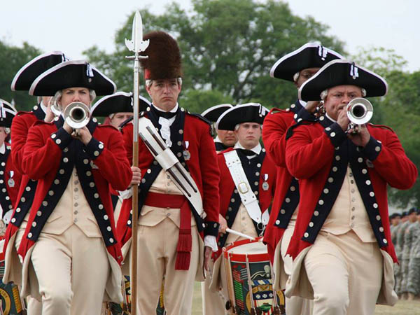 The Old Guard Fife and Drum Corps will perform during Saturday´s Stripes and Stars Festival. (Photo via Facebook)