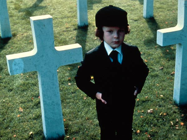 Harvey Spencer Stevens as Damien in the 1976 horror movie, ´The Omen.´ (Photo via 20th Century Fox)