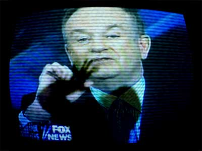 Fox News as journalistic thugs? Attytood´s Will Bunch thinks so. (Daily News photo illustration)