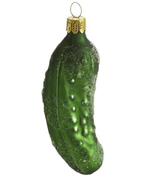 European Pickle Ornament Pier One, $395