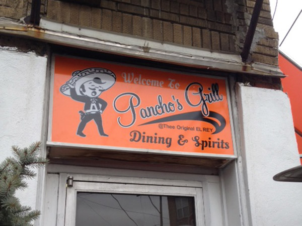 Pancho´s Grill, Seventh Street and Passyunk Avenue.