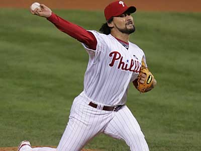 The Phillies do not plan to offer Chan Ho Park arbitration. (File Photo)