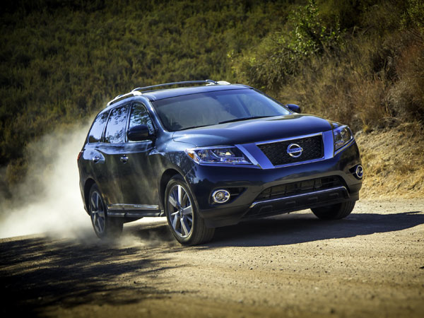 The 2013 Nissan Pathfinder