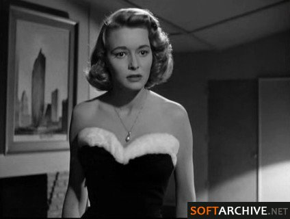 "Patricia Neal as Dominque Francon in Ayn Rand´s ""The Fountainhead."""