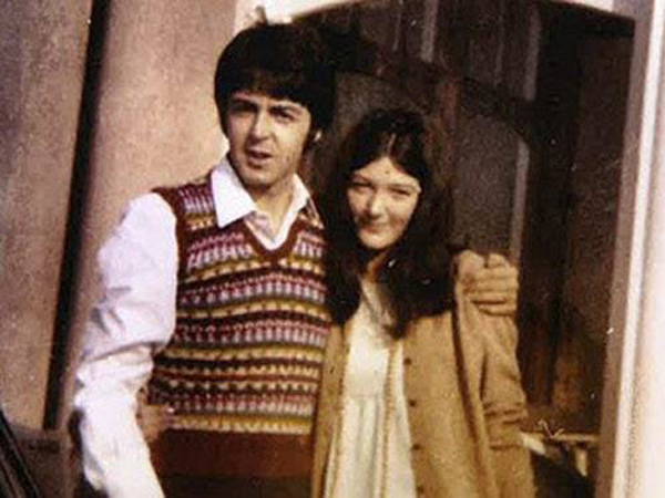 Paul McCartney and Freda Kelly, from ´Good Ol´ Freda´