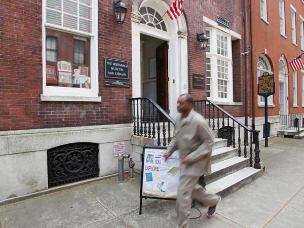 The Rosenbach Museum and Library on Delancey Place (Michael Bryant/Staff Photographer)