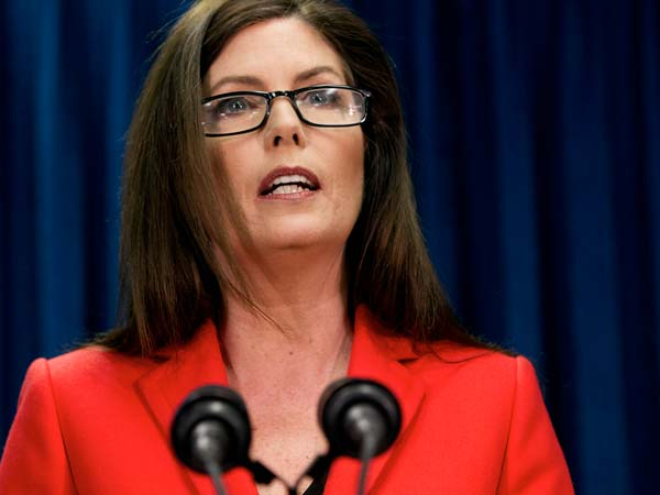 Pennsylvania Attorney General Kathleen Kane  (AP Photo/The Patriot-News, Sean Simmers)