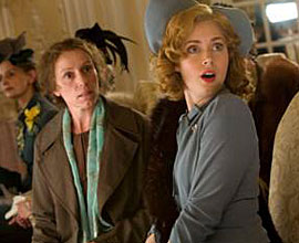 """Frances McDormand and Amy Adams (right) star in """"Miss Pettigrew Lives for a Day."""""""
